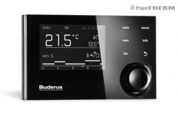 BUDERUS PAKIET LOGAMAX PLUS GB192-30iT40SWH + RC310 + KM100verp